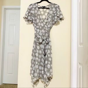 MSK midi gorgeous flowy dress- EUC- size 8